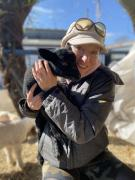 Caroline-and-Ruby-the-rescue-lamb