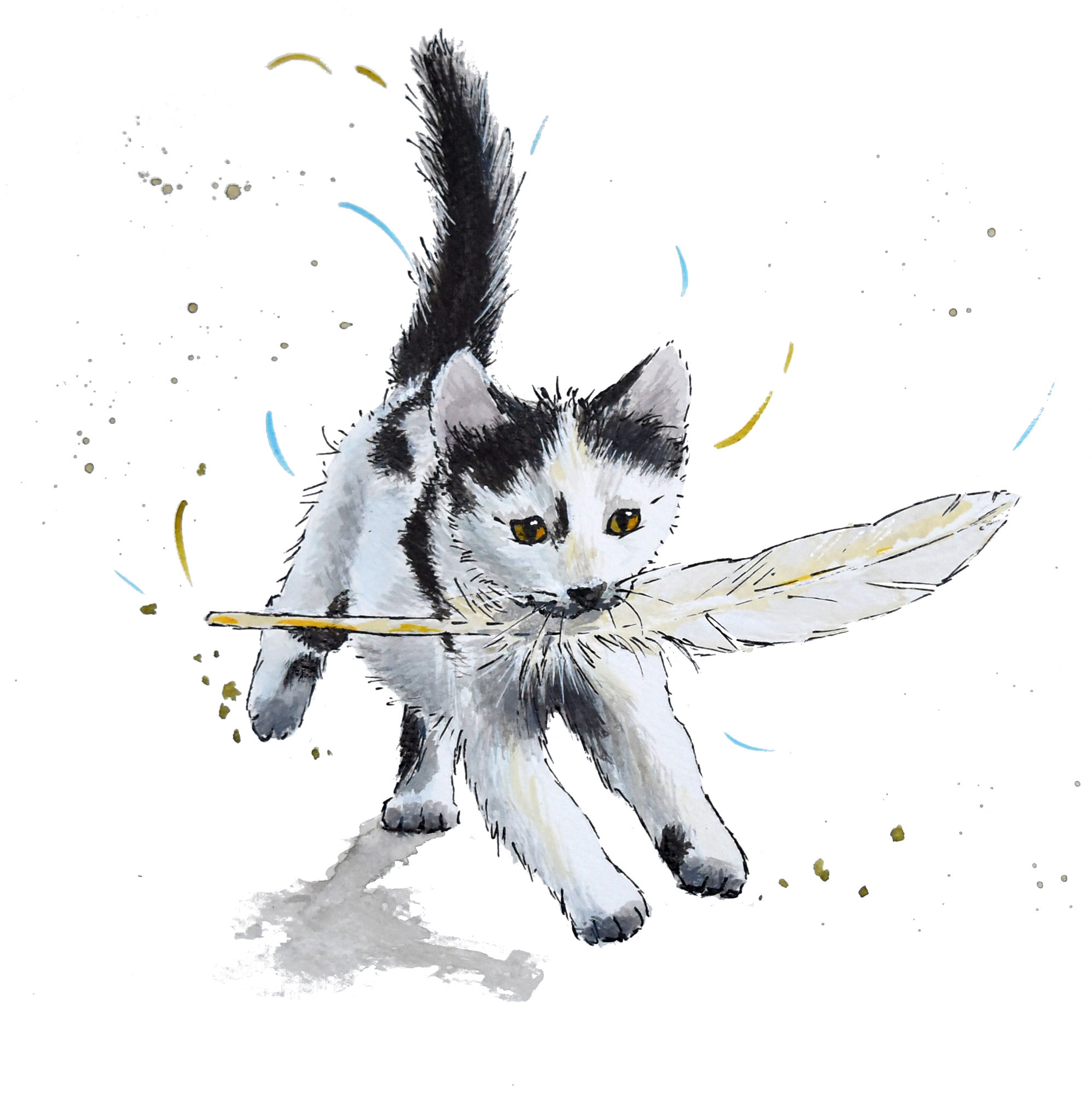 Cat commissions - Why do we love cats so much.