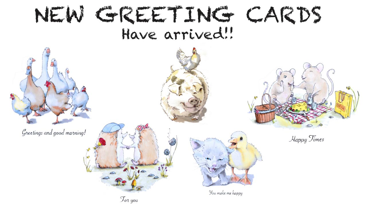 My New greeting cards are here!